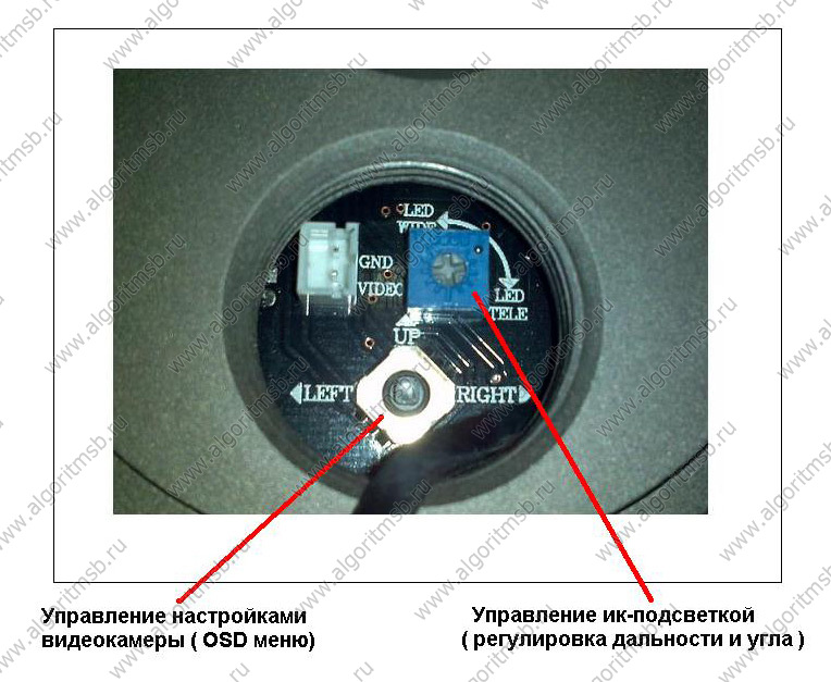 ICS-4800 с ИК-подсветкой