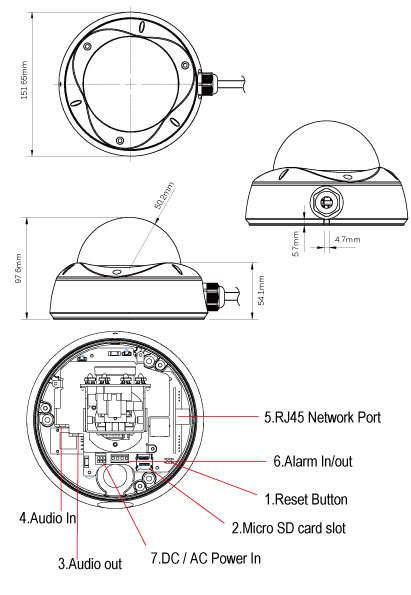 EV8580U-C (2 Mп) c ИК-