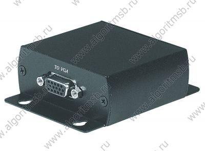 Комплект SC&T TTP111VGA приемник + передатчик для передачи VGA сигнала по кабелю витой паре STP или