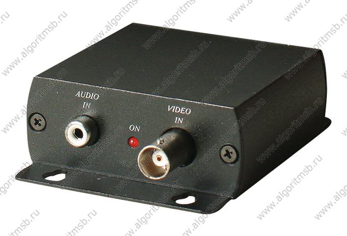 Фильтр высокочастотных помех видео+аудио (комплект) SC&T CHB001H - Вид передатчика CHB001TH.