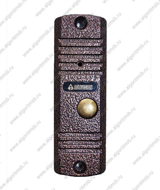 """Накладная одноабонентная видеопанель, цветная камера (PAL) pinhole 1/3 """", 330 ТВЛ, 1 лк, f=3.7 мм, ИК-подсветка до..."""