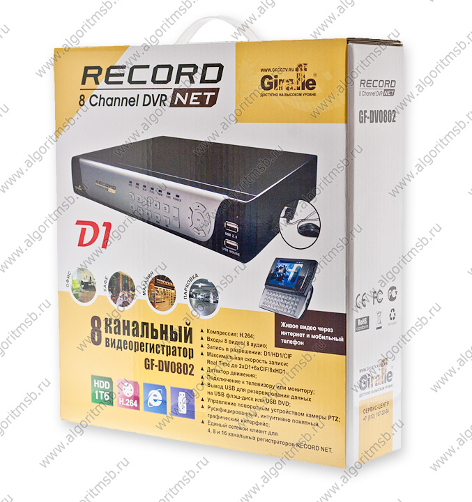видеорегистратор Gf-dv0802 Record Net инструкция - фото 4