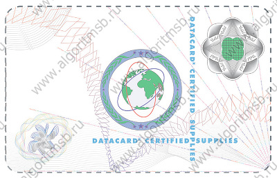 Ламинационная лента Datacard 508913-301 (Optigram DuraGard 1.0 mil Datacard Certified Supplies)