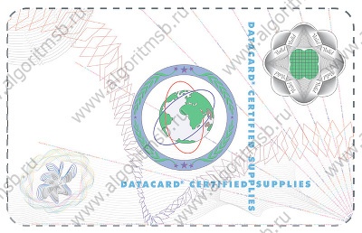 Ламинационная лента Datacard 508913-401 (Optigram DuraGard 1.0 mil Datacard Certified Supplies)