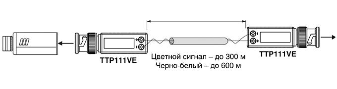 Схема подключения пассивного